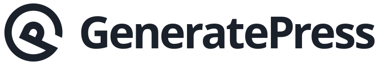 Generatepress template